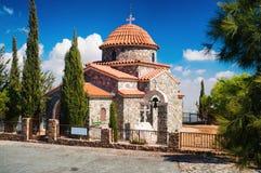 Castillo del templo de Stravovanie en la montaña Fotos de archivo libres de regalías