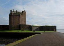 Castillo del transbordador de Broughty Fotos de archivo