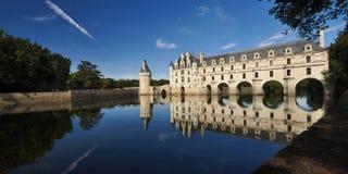 Castillo del valle del Loira - el Chenoceau foto de archivo