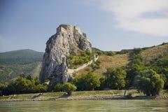 Castillo Devin Bratislava Slovakia Fotos de archivo