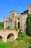 Castillo di Valbona fotografia stock