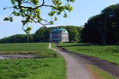 Castillo Dinamarca de Eremitage foto de archivo