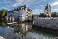 Castillo el valle del Loira de Chenonceau Fotos de archivo