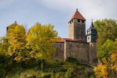 Castillo Elgersburg en Thuringia Imágenes de archivo libres de regalías