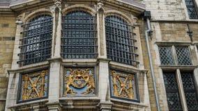 Castillo en Amberes imágenes de archivo libres de regalías