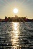 Castillo en Bodrum Fotografía de archivo
