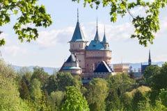 Castillo en Bojnice Foto de archivo libre de regalías