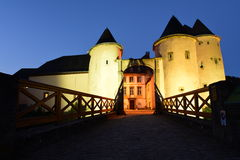 Castillo en Bourglinster, Luxemburgo Imagenes de archivo