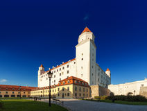 Castillo en Bratislava Imágenes de archivo libres de regalías