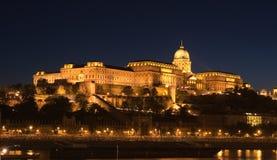 Castillo en Budapest Foto de archivo
