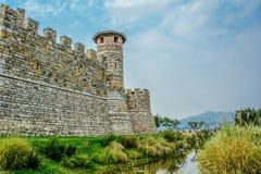 Castillo en California Napa Valley Foto de archivo libre de regalías
