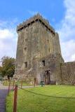 Castillo en Co.Cork, Irlanda de la lisonja. Imagen de archivo libre de regalías