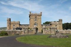 Castillo en Edimburgo Fotos de archivo libres de regalías