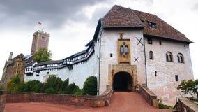 Castillo en Eisenach, Alemania de Wartburg fotos de archivo libres de regalías