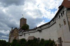 Castillo en Eisenach, Alemania de Wartburg Fotografía de archivo libre de regalías
