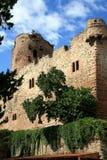Castillo en el â Alsacia, Francia de Kintzheim Fotografía de archivo