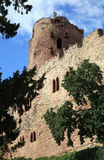 Castillo en el â Alsacia, Francia de Kintzheim Fotos de archivo libres de regalías