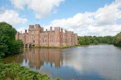 Castillo en el agua Imagenes de archivo