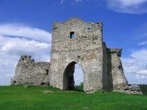 Castillo en el Bona Fotografía de archivo