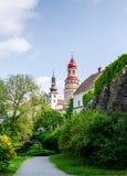 Castillo en el chod del ¡de NÃ fotos de archivo libres de regalías