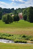 Castillo en el parque foto de archivo libre de regalías