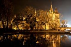 Castillo en el parque de la ciudad de Budapest Fotografía de archivo