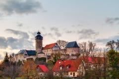 Castillo en el pueblo bávaro Sanspareil Fotografía de archivo libre de regalías