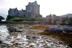Castillo en Escocia fotos de archivo