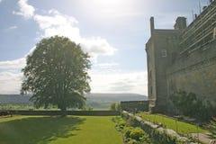 Castillo en Escocia fotos de archivo libres de regalías