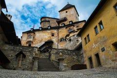 Castillo en Eslovaquia Imagen de archivo