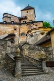 Castillo en Eslovaquia Fotografía de archivo