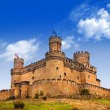 Castillo en España fotografía de archivo libre de regalías