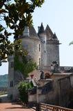 Castillo en Europa (Francia) Imágenes de archivo libres de regalías
