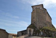 Castillo en Frontone - Italia Imagenes de archivo