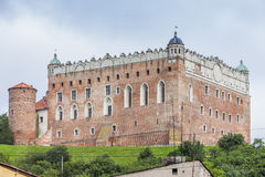 Castillo en Golub Dobrzyn Imágenes de archivo libres de regalías