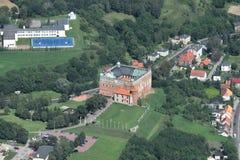 Castillo en Golub-Dobrzyn Foto de archivo
