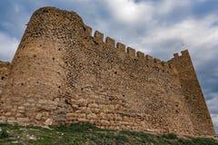 Castillo en Grecia foto de archivo
