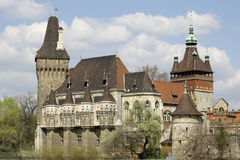 Castillo en Hungría foto de archivo libre de regalías