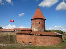Castillo en Kaunas imágenes de archivo libres de regalías