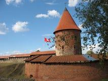 Castillo en Kaunas fotografía de archivo libre de regalías