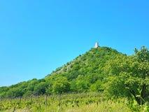 Castillo en la colina, República Checa fotos de archivo libres de regalías