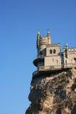 Castillo en la roca Foto de archivo libre de regalías
