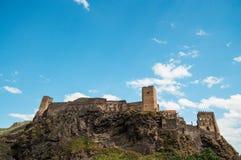 Castillo en la roca. Foto de archivo