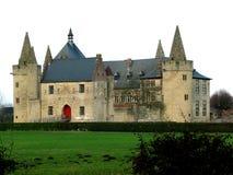 Castillo en Laarne (Bélgica) imagen de archivo libre de regalías