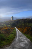 Castillo en las nubes Imagenes de archivo