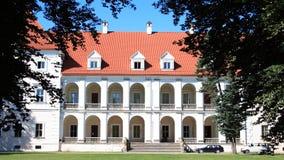 Castillo en Lituania Imagenes de archivo