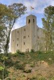 Castillo en los árboles Imagen de archivo libre de regalías