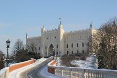 Castillo en Lublin fotografía de archivo libre de regalías