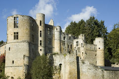 Castillo en Luxemburgo Imagenes de archivo