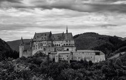 Castillo en Luxemburgo Imagen de archivo